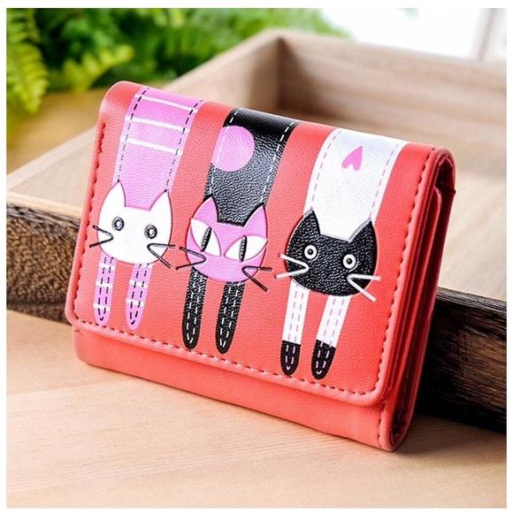 Handbags - 🌺 LAST ONE ADORABLE Cat Wallet